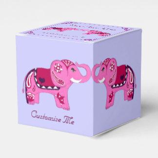 Ballotins Éléphant de henné (rose/pourpre)