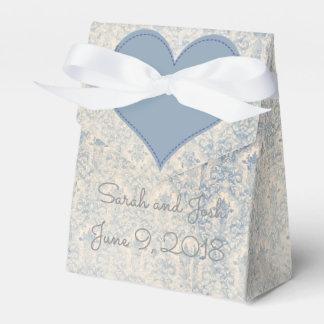 Ballotins Faveur de mariage dans le bleu