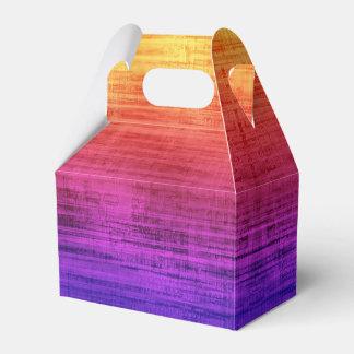 Ballotins Gradient violet, pourpre, rouge et orange