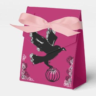 Ballotins illustration de Halloween d'un corbeau et d'un