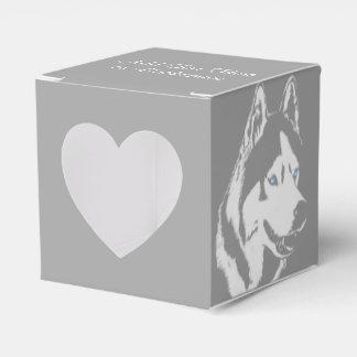 Ballotins La boîte-cadeau enrouée personnalisent la