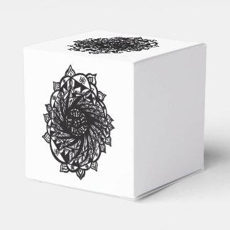 Ballotins Mandala noir 2 de fleur