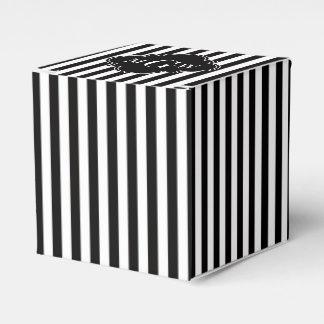 Ballotins Monogramme blanc noir de Quatrefoil 3 de noir de