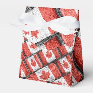 Ballotins Motif canadien de motif de drapeau