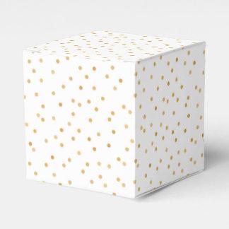 Ballotins Points modernes élégants de confettis de blanc et