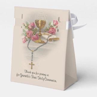 Ballotins Roses traditionnels de chapelet de première sainte