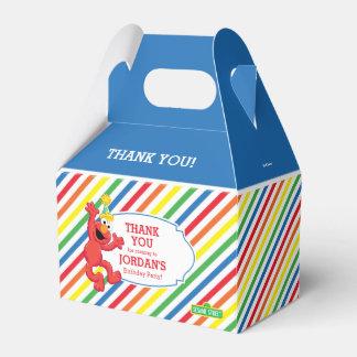 Ballotins Sesame Street   Elmo - anniversaire d'arc-en-ciel