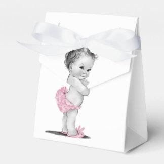 Ballotins vintages doux de baby shower boite de faveur