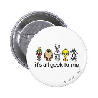 Ballots Looney d airs - tout le geek Badge Avec Épingle