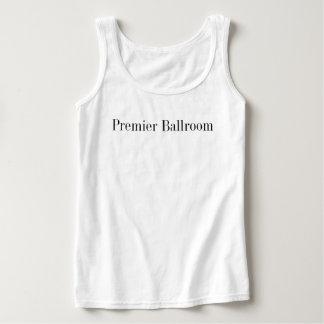 Ballroom Tank Dessus White première de base Débardeur