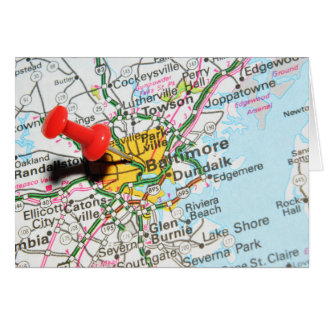Baltimore, le Maryland Cartes