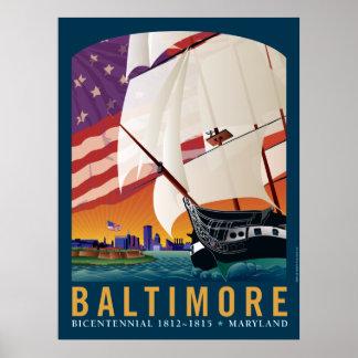 Baltimore : Par la première lumière de l'aube Affiche