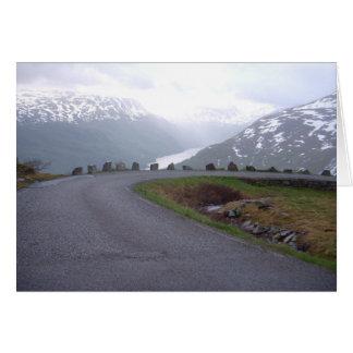 Balustrade 2008 de sécurité de la Norvège Carte De Vœux