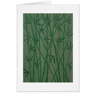 """""""Bambou """" Cartes De Vœux"""