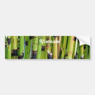 Bambou du Vietnam Autocollant De Voiture