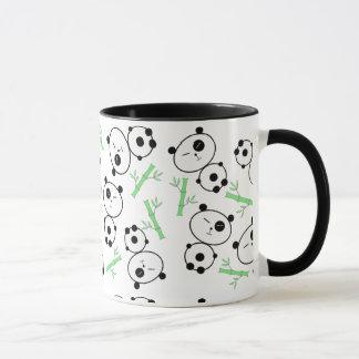 Bambou et pandas mug