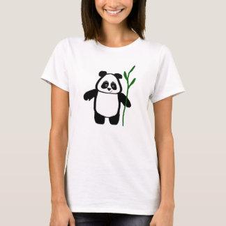 Bambou le T-shirt de dames de panda