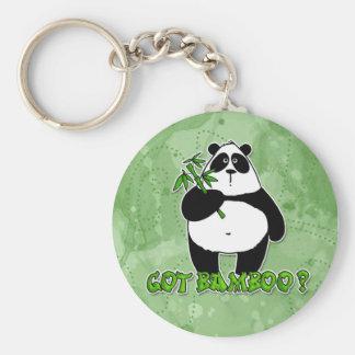 bambou obtenu ? porte-clé rond