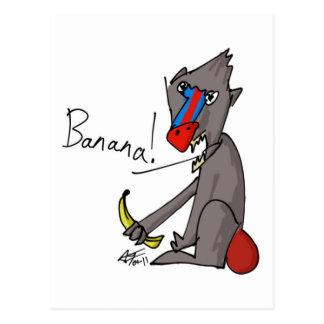 Banane ! Carte postale