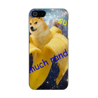 banane   - doge - shibe - l'espace - wouah doge coque iPhone 5 incipio feather® shine