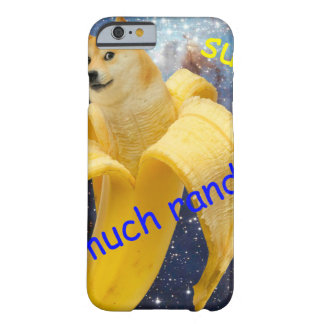 banane   - doge - shibe - l'espace - wouah doge coque iPhone 6 barely there