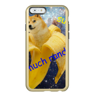 banane   - doge - shibe - l'espace - wouah doge coque iPhone 6 incipio feather® shine