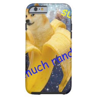 banane   - doge - shibe - l'espace - wouah doge coque iPhone 6 tough