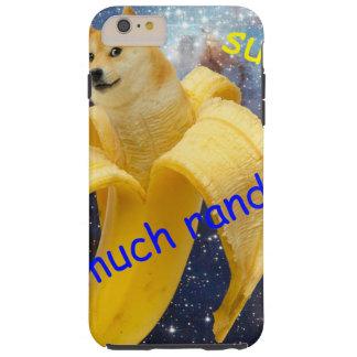 banane   - doge - shibe - l'espace - wouah doge coque tough iPhone 6 plus