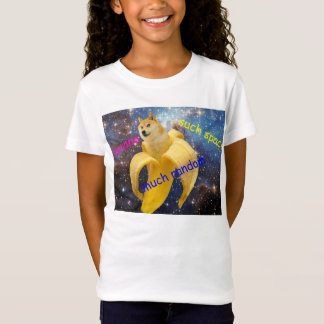 banane   - doge - shibe - l'espace - wouah doge T-Shirt