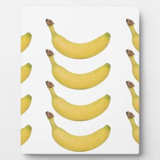Banane multi transparente plaque photo