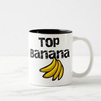 Banane supérieure tasse