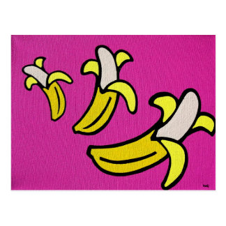 """Bananes allantes "" Carte Postale"