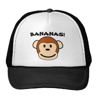 Bananes de casquette de singe !