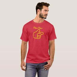 Banc de banc dirigeant la main t-shirt