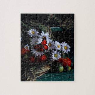 Banc de jardinage puzzle
