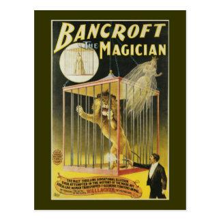 Bancroft le magicien c 1897 cartes postales