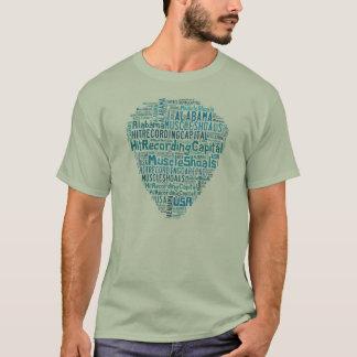 Bancs de muscle, T-shirt de l'Alabama