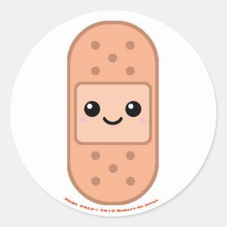Bandage de copains de Medi Sticker Rond