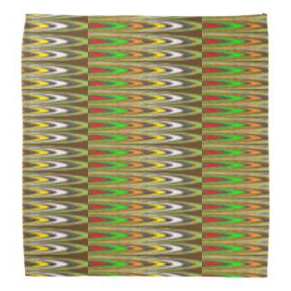 """BANDANA 19"""" de l'art NAVIN énergie COLORÉE carrée"""