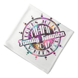 Bandana 2017 officiel de Miami de la Réunion de