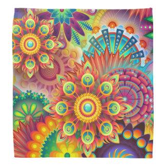 Bandana Abstraction de fleur