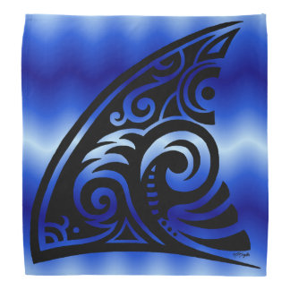Bandana Aileron tribal de requin d'art