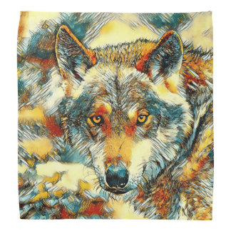 Bandana AnimalArt_Wolf_20170602_by_JAMColors