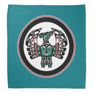 Bandana Art du nord-ouest Thunderbird de Haida de Côte