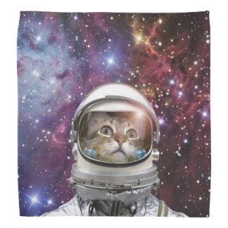 Bandana Astronaute de chat - chat fou - chat