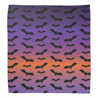 Bandana Battes éffrayantes Halloween pourpre