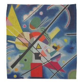 Bandana Bleu abstrait de peinture de Kandinsky