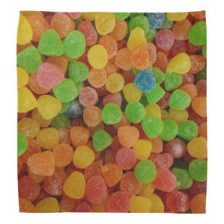 Bandana Boules de gomme colorées