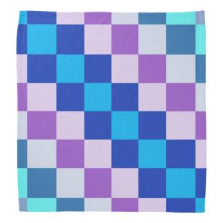 Bandana carré géométrique de chien