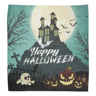 Bandana Ciel nocturne hanté éffrayant Halloween de costume